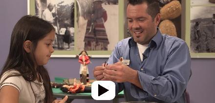 DIY Corn Necklace activity video