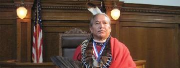 Damon Roughface as Standing Bear