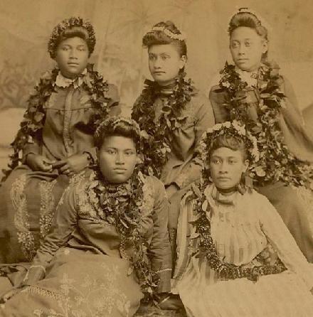 Hawaiian ladies NAA Photo Lot 76-24