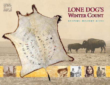 Lone Dogs Winter Count Poster