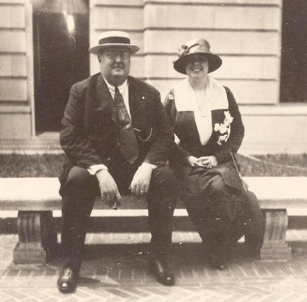 Mr. and Mrs. (Thea) George Gustav Heye