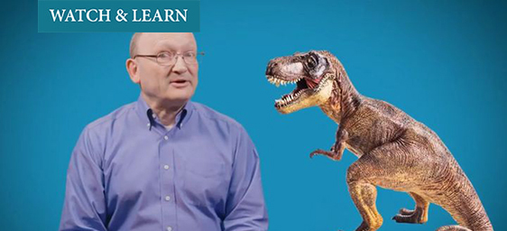 Watch & Learn - The Dr. Is In - Dr. Hans Sues with Dinos