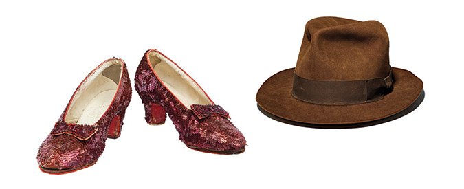 Ruby Slippers and Indiana Jones hat