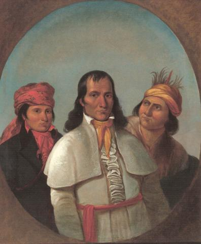 Teacher eNews 3 Potawatomi Chiefs painting by George Winter