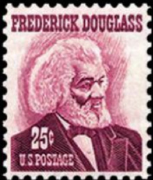 US Stamp honoring Frederick Douglass, 1967. US Postal Service
