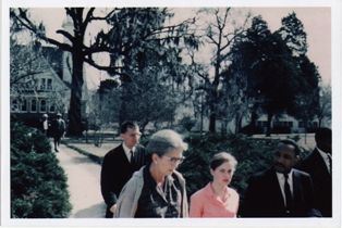Joan Trumpauer Mulholland w/ Dr. King