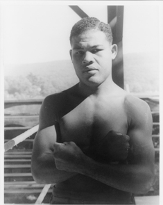 Portrait of Joe Louis, Greenwood Lake, N.Y. September 15, 1941. Carl Van Vechten (1880 - 1964).
